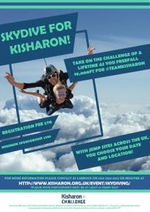 SkyDiving Poster Kisharon NEW version 2