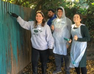 mitzvah day fence